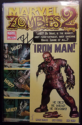 MARVEL ZOMBIES SERIES 2 # 3 NM 2008 TALES OF SUSPENSE #39 SIGNED BY KIRKMAN