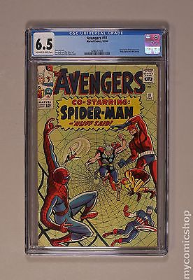 Avengers (1963 1st Series) #11 CGC 6.5 (0296217005)