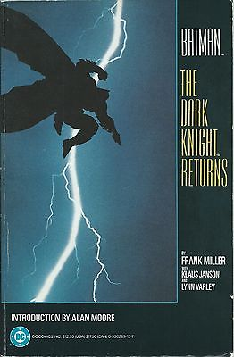 **BATMAN: THE DARK KNIGHT RETURNS TPB GRAPHIC NOVEL**(1986, DC)**COMPILES #1-4**