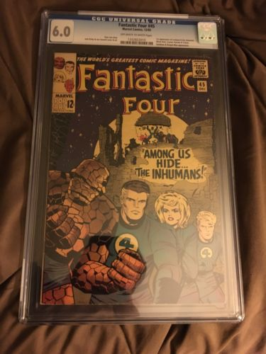 Fantastic Four #45 CGC 6.0 *(First App Of The Inhumans)*-Stan Lee-Jack Kirby