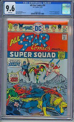 DC ALL-STAR COMICS #58 - CGC 9.6 WP NM+  First POWER GIRL