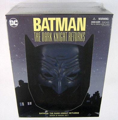 Batman The Dark Knight Returns TPB GN Book & Mask Set NEW DC COMICS FRANK MILLER