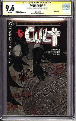 * BATMAN: The Cult #1 CGC 9.6 SS Signed Starlin & Wrightson (1323608002) *