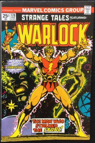 STRANGE TALES - 178, 1975, WARLOCK, Jim Starlin, Marvel Comics, VF