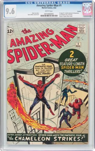 The Amazing Spider-Man #1 Curator Pedigree (Marvel, 196 Lot 91233