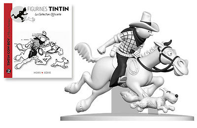 TINTIN COW-BOY MILOU TINTIN EN AMERIQUE Hors-série 2? PIXI / LEBLON / FARIBOLES