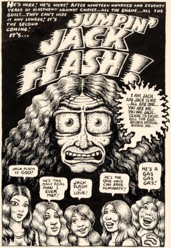 """Robert Crumb Thrilling Murder Comics #3 """"Jumpin' Jack F Lot 92021"""