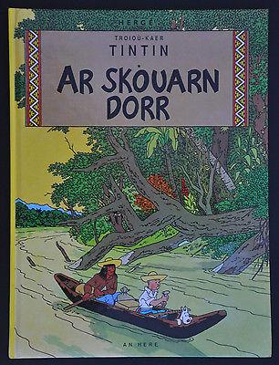 Tintin Herge L'oreille cassée Breton An Here EO 1991 TBE VGC Rare