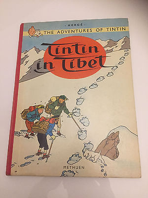 Tintin au Tibet EO anglaise BE 1962  Methuen/Tintin in Tibet