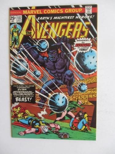 Avengers # 137 - NEAR MINT 9.6 NM - Captain America Iron Man Vision MARVEL