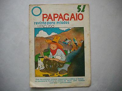 Tintin en Amerique - O Papagaio #51 - 1936