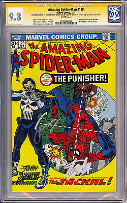 The Amazing Spider-Man #129 CGC 9.8 SS 4X 1ST PUNISHER ONE OF A KIND