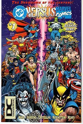DC Versus Marvel 1 2 3 4 NM 1996 Marvel Versus DC