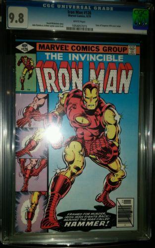 Iron Man #126 CGC 9.8 wht pgs Tales of Suspense swipe cover