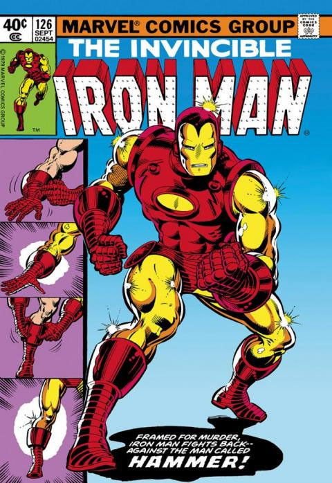 Iron Man #126 on Canvas Signed by Stan Lee