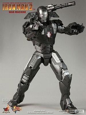 Hot Toys Iron Man 2 - War Machine Movie Masterpiece Series 120