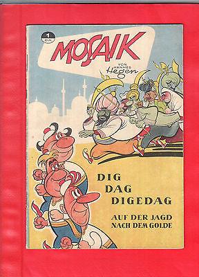 Mosaik Digedags Hannes Hegen Heft 1