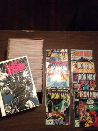 Iron Man 162-300 Plus Annual 8-14 Full Run Lot Marvel (includes 282)