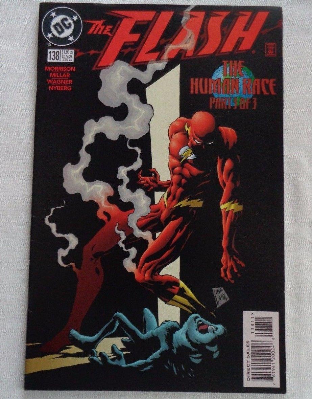 DC Comics The Flash #138 (1998) 1st Black Flash Appearance VF+ 8.5 VF/NM 9.0
