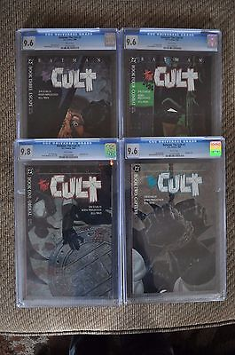 Batman: The Cult #1-4 set - CGC Rated White Paper by Jim Starlin