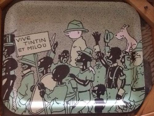 Plateau Tintin Axis Paris