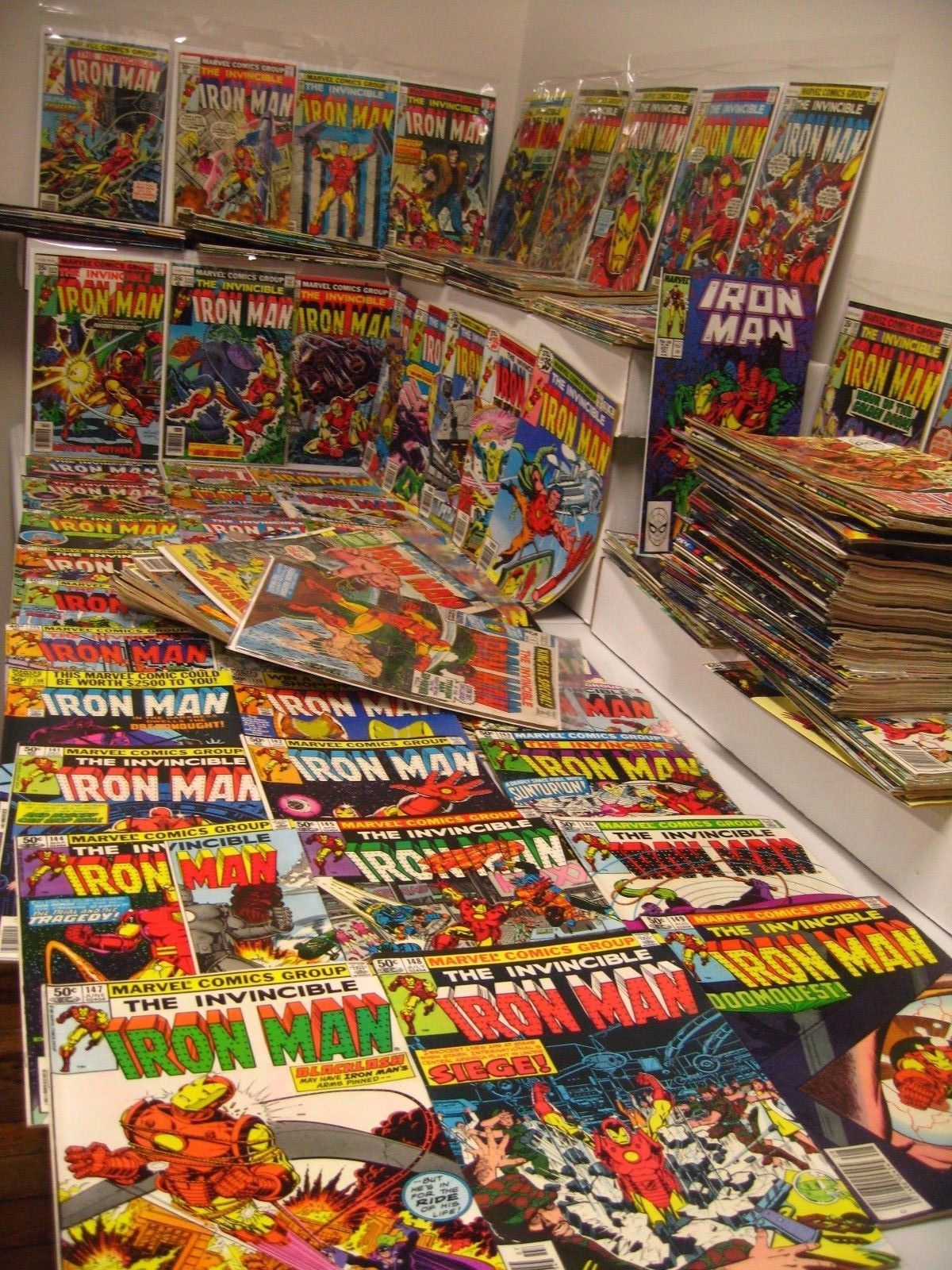 Iron Man #98-300 Mostly complete inc + Annuals #1-14 + Iron Man Vol 2 #1, 2