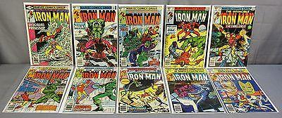 IRON MAN #130 131 132 133 134 135 136 137 138 139 (10 Issue Run) Marvel 1979