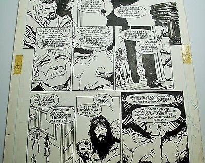 Bernie Wrightson Original Artwork - Batman The Cult
