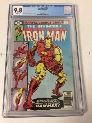 Iron Man 126 Cgc 9.8 White Pages Tales Of Suspense 39 Cover Swipe