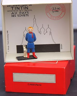 PIXI 4588. Tintin au Pays des Soviets. 1990. Boîte numérotée.Complet neuf
