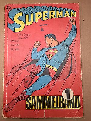 Superman Sammelband Nr.1  von 1966  Original