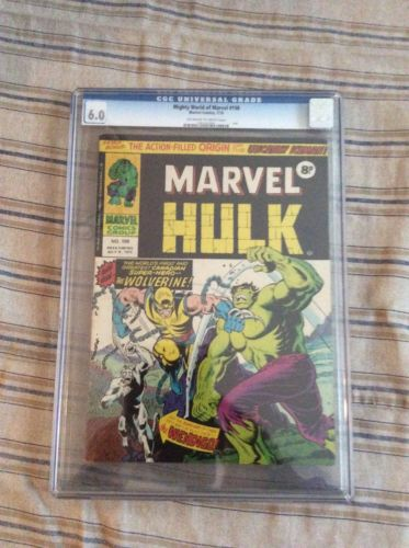 Mighty World of Marvel 198 CGC 6.0 1st appearance of Wolverine