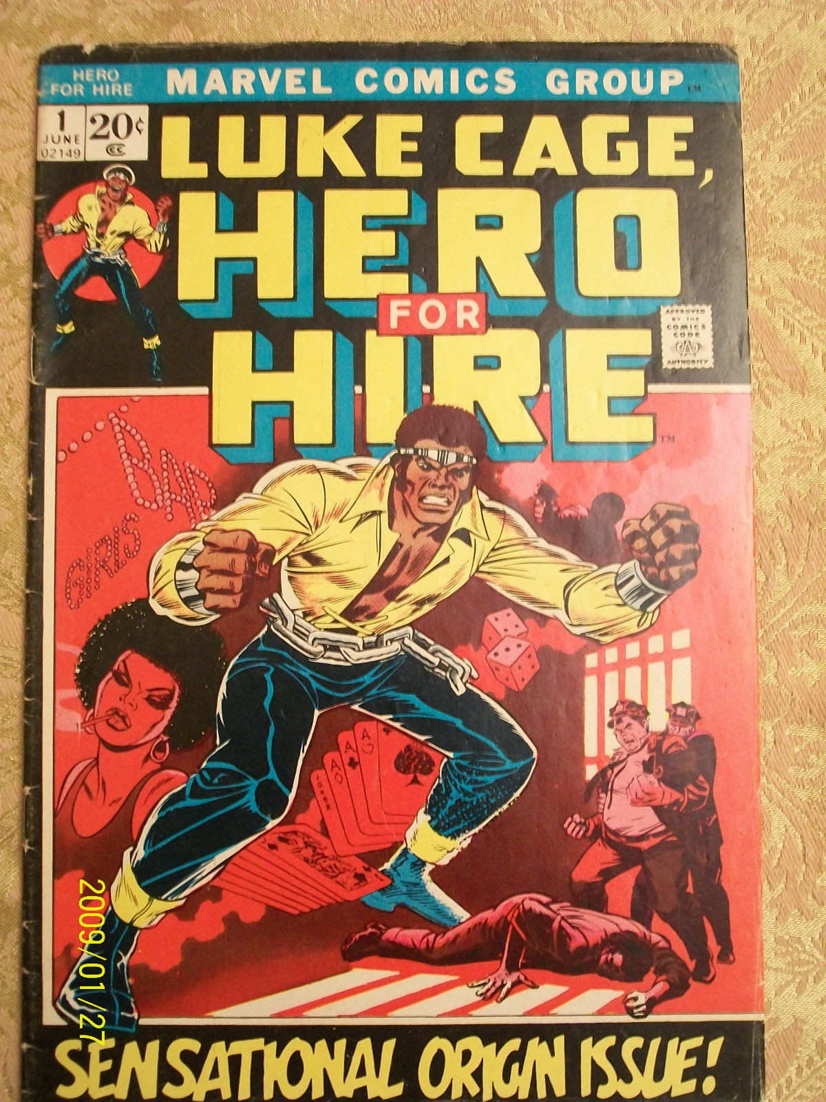 Marvel Comics  Luke Cage Hero for Hire Issue #1