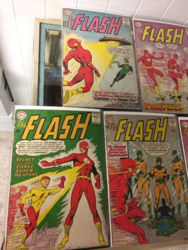 The Flash 131 132 133 134 135 136 137 138 140 All 4.0-6.0 Very Good - Fine