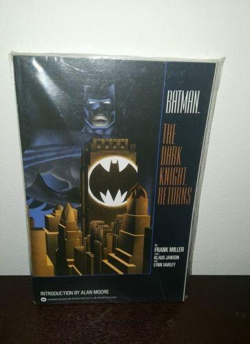 BATMAN THE DARK KNIGHT RETURNS TPB ==  NM/NM+ 1ST PRINT WARNER BOOKS 1986