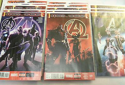 Avengers #35-44 / New Avengers #24-33 / Avengers World #17-21 - TIME RUNS OUT