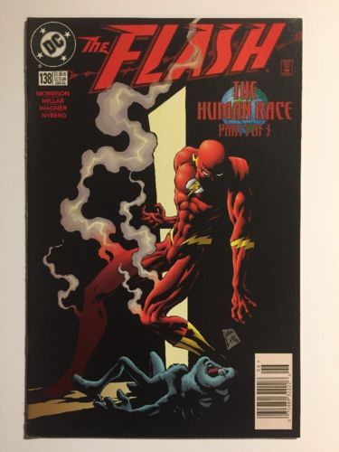 The Flash Issue # 138 - 1st Appearance of The Black Flash
