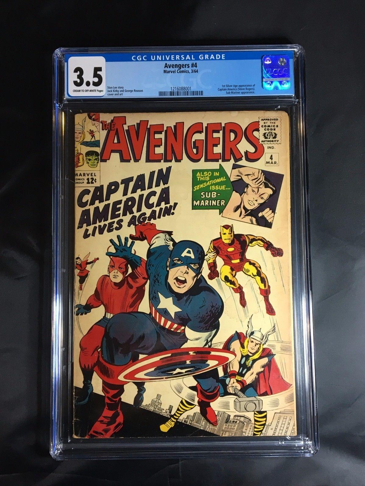 Avengers #4 CGC 3.5