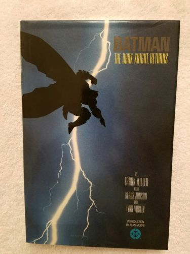 1986 DC Comics Batman The Dark Knight Returns HC TPB (1st Print) Rare VF/NM