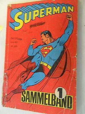 Superman - Sammelband 1 - Ehapa - Z. 3-4/4
