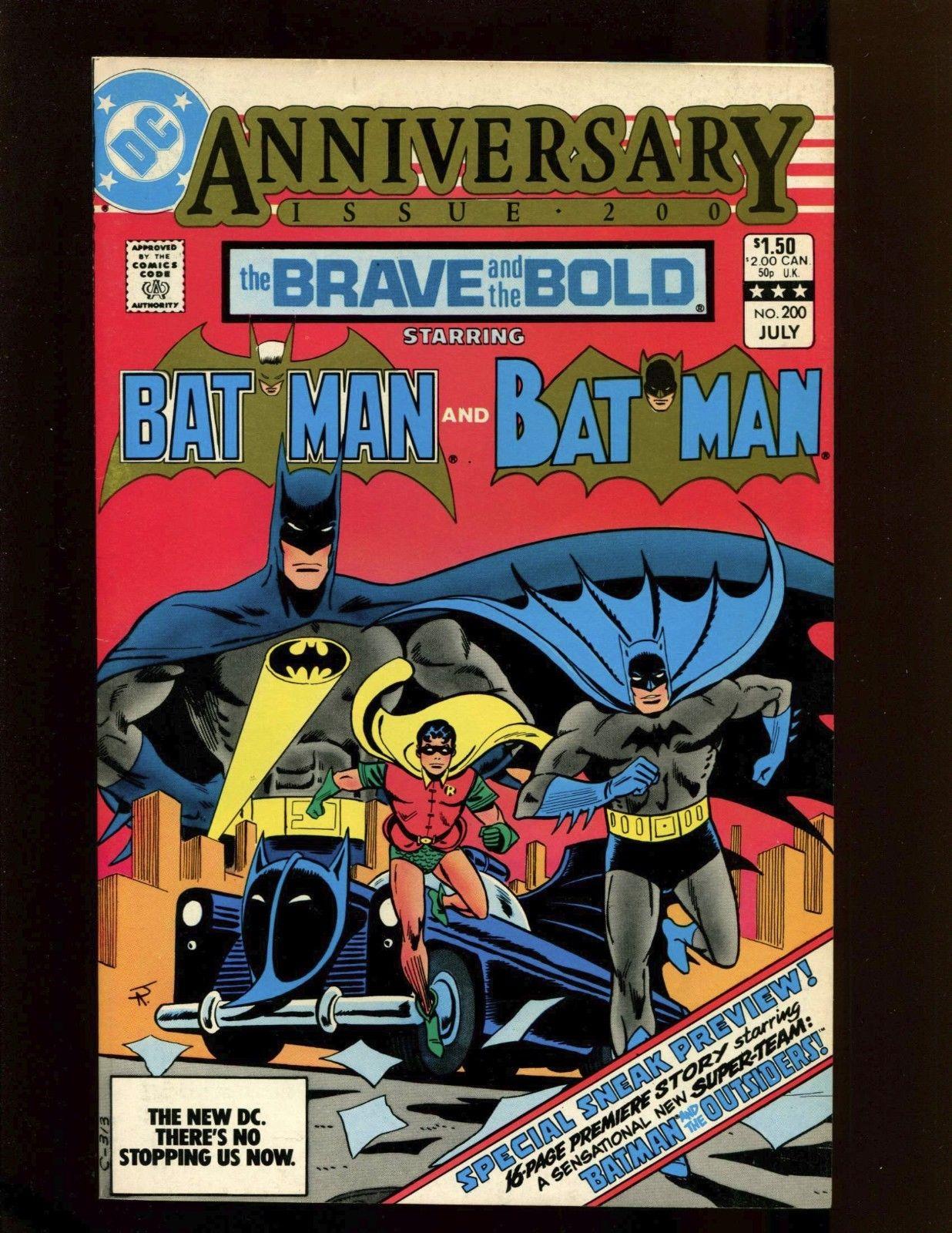 Brave and the Bold #200 VF+ Aparo 1st Batman & Outsiders Katana Halo & Geo-Force