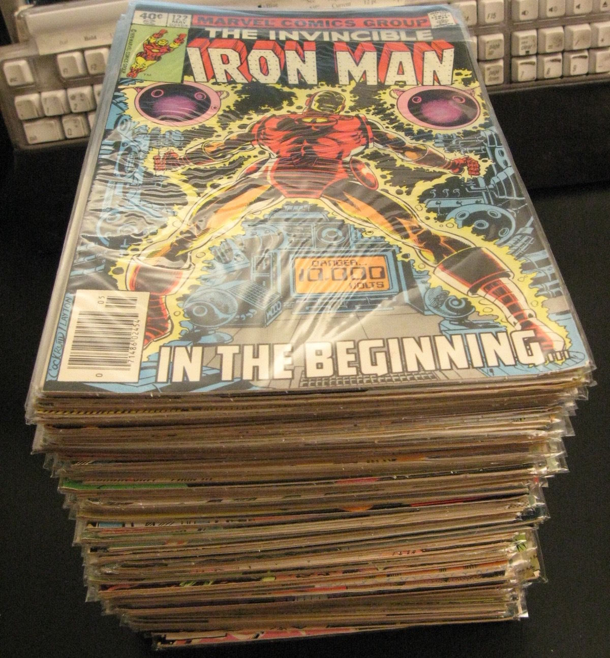 Look---  MEGA-LOT of *84* Bronze/Copper IRON MAN ?122-237? w/5 Annuals (VF)