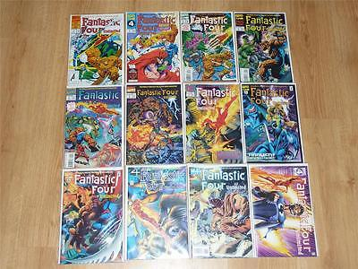 Fantastic Four Unlimited #1 to #12 Complete Set - Marvel 1993 - VFN+