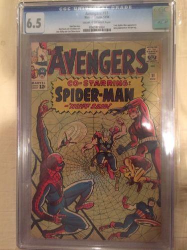 Avengers 11 6.5 CGC