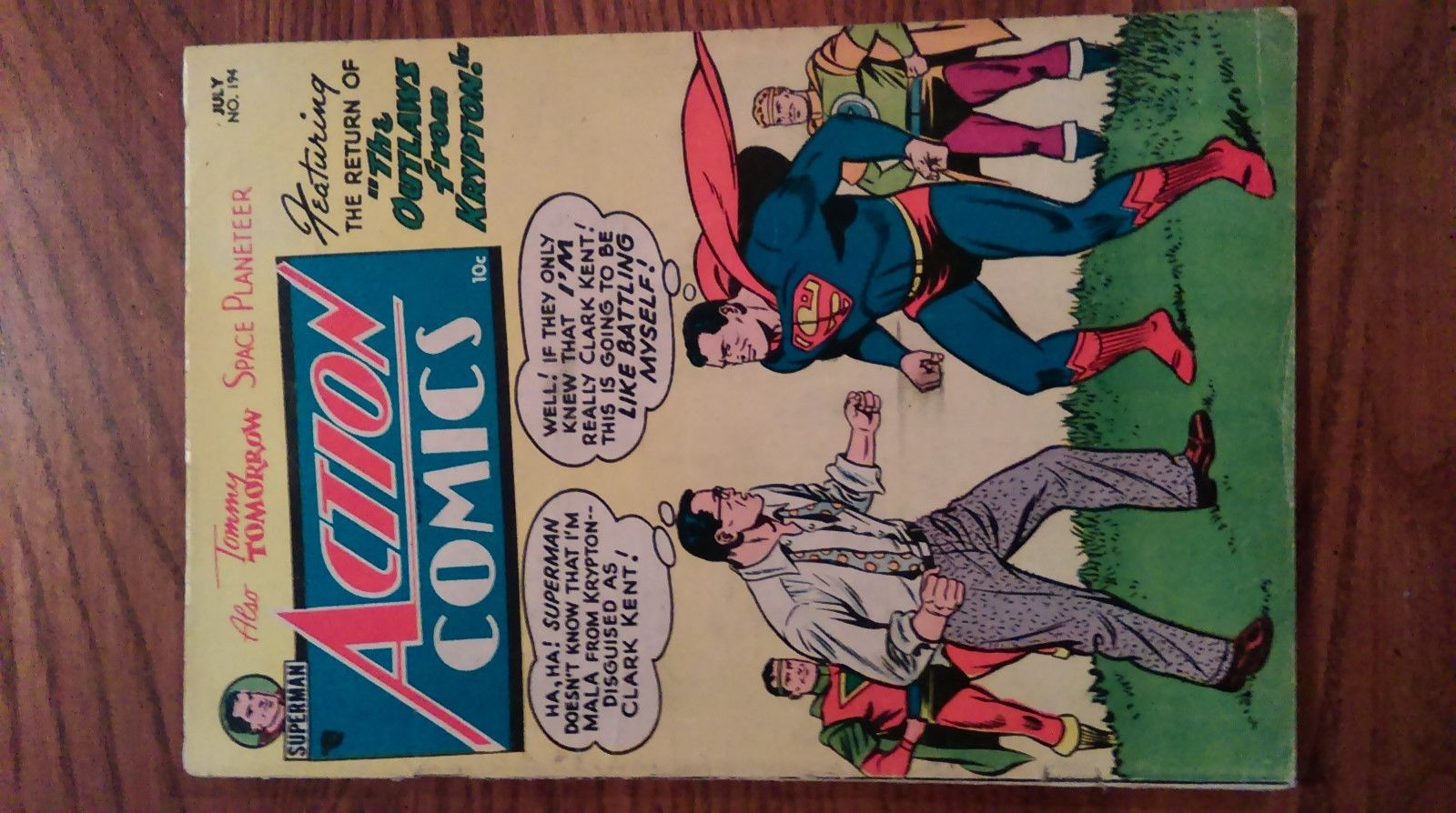 ACTION COMICS # 194  SUPERMAN - DC GOLDEN AGE - CHECK PHOTOS - MAKE OFFER