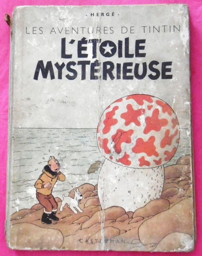 Tintin L'étoile mystérieuse eo de 1946