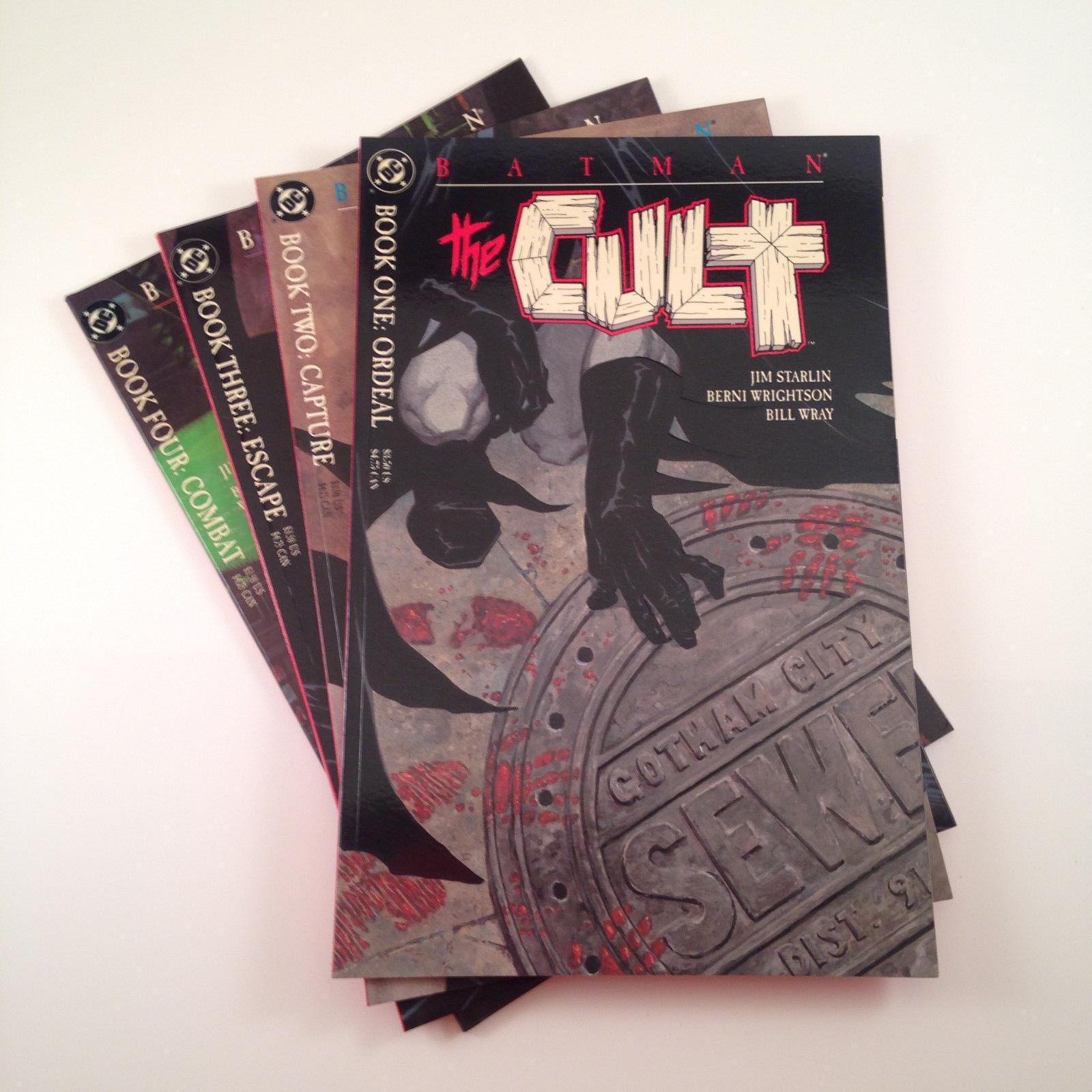 Batman The Cult Complete Set of 4 (1-4) NM/NM+ Starlin Wrightson Prestige Format