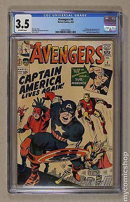 Avengers (1963 1st Series) #4 CGC 3.5 0285874003