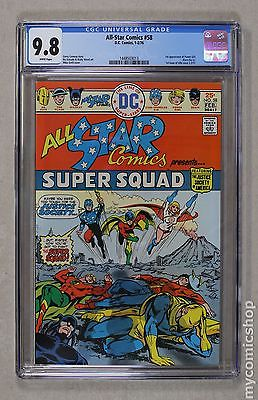 All Star Comics (1940-1978) #58 CGC 9.8 1448503013