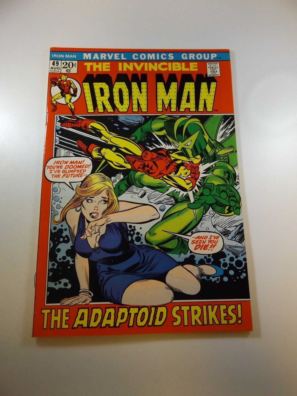 Iron Man #49 VF condition Free shipping on orders over $100.00